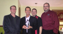 "OnTrack Sales receives  Galaxy Audio's ""Outstanding New Dealer Growth Award""  for 2013"
